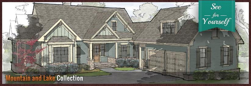 Meritus signature homes affordable custom homes for Custom lake house plans